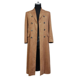 Doctor Who Dr. Brown Lang Mantel Cosplay Kostüm - cosplaycartde