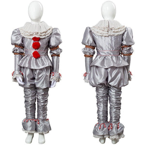 Es: Kapitel 2 Film 2019 Horrorclown Pennywise The Clown Outfit Cosplay Kostüm für Kinder