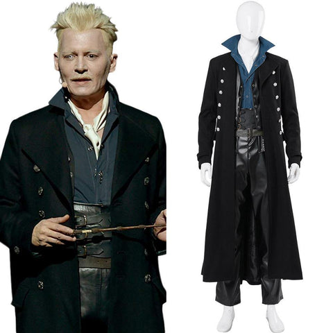 Fantastic Beasts: The Crimes of Grindelwald Phantastische Tierwesen: Grindelwalds Verbrechen Gellert Grindelwald Cosplay Kostüm