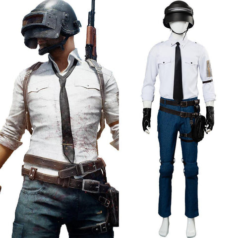 Game Spiel PUBG Playerunknown's Battlegrounds Cosplay Kostüm Full Set