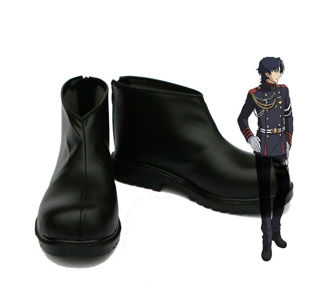 Guren Ichinose Seraph of the End Stiefel Cosplay Schuhe Schwarz - cosplaycartde