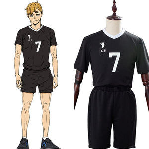 Haikyuu!! S4  Staffel 4 Atsumu Miya Uniform Cosplay Kostüm