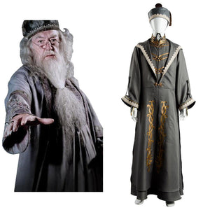 Harry Potter Albus Dumbledore Halloween Cosplay Kostüm Erwachsene