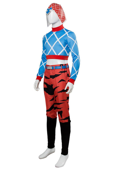 Jotaro Kujo JoJo's Bizarre Adventure: Golden Wind Guido Mista Cosplay Kostüm