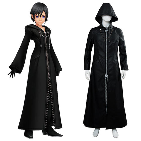 Kingdom Hearts III Kingdom Hearts 3 Organization XIII Xion Uniform Mantel Cosplay Kostüm
