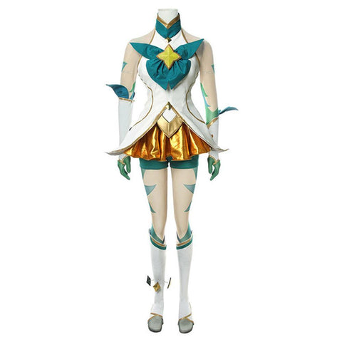 LOL Star Guardian LOL League of Legends Neeko Kleid Cosplay Kostüm Damen Kostüm