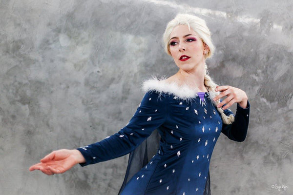 Frozen Olaf's Frozen Adventure Elsa Kleid Cosplay Kostüm