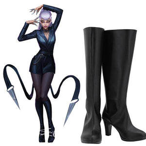 League of Legends Kda THE BADDEST Evelynn Stiefel Cosplay Schuhe