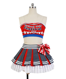 Love Live! Cheerleaders Sportveranstaltungen Version Cosplay Kostüm Maki Nishikino Uniform
