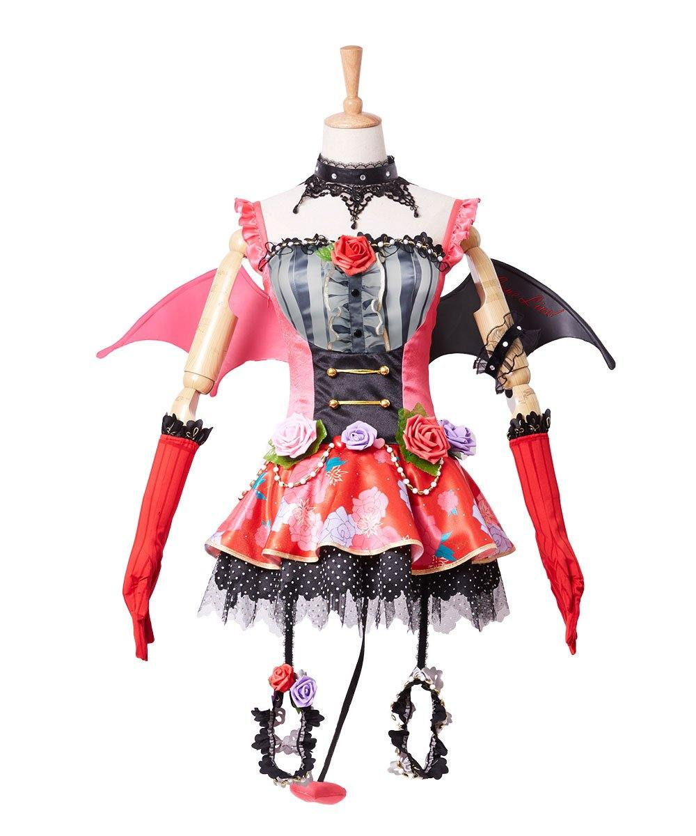Love Live! New UR Maki Nishikino Little Devil Transformed Uniform Halloween Cosplay Kostüm - cosplaycartde