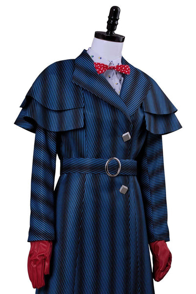 Mary Poppins' Rückkehr Mary Poppins Returns (2018) Mary Poppins Cosplay Kostüm - cosplaycartde