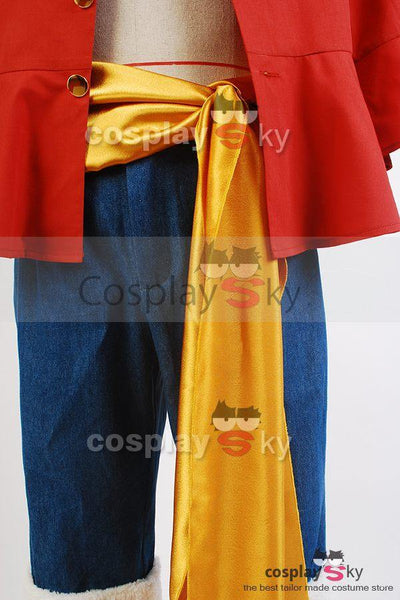 Monkey D Luffy  Straw One Piece Hat Suit Cosplay Kostüm - cosplaycartde