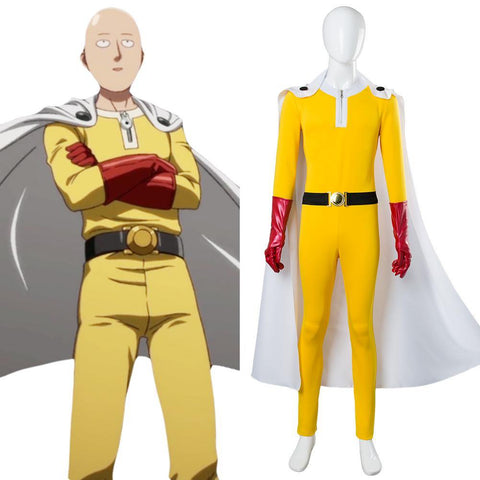 One-Punch Man Saitama Jumpsuits Cosplay Kostüm