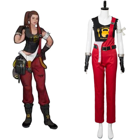Overwatch Brigitte Uniform Cosplay Kostüm
