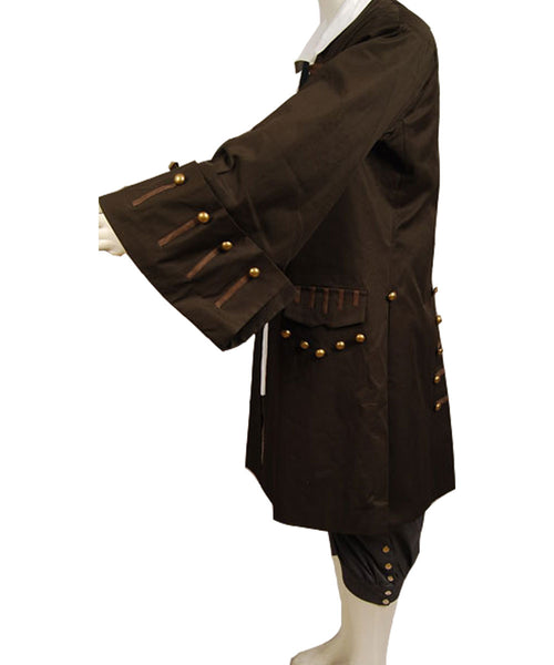 Pirates Of The Caribbean Jack Sparrow Johnny Depp Cosplay Kostüm Set