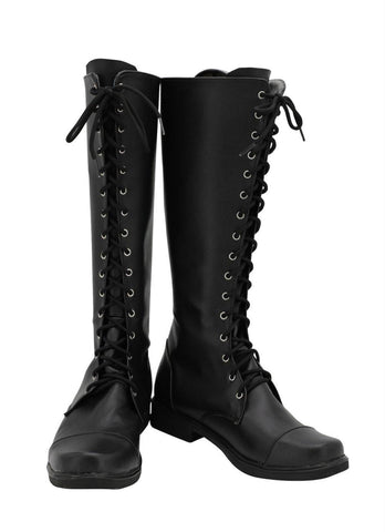 Resident Evil 2 Alice Stiefel Cosplay Schuhe Stiefel