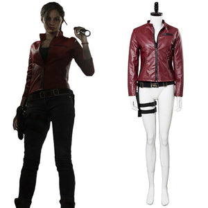Resident Evil 2 Re Claire Redfield Neu Version Cosplay Kostüm