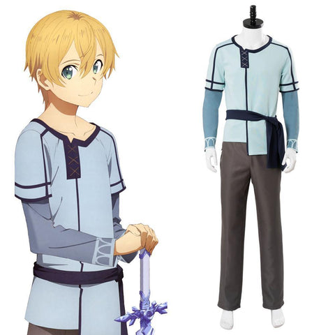 SAO Sword Art Online Alicization Underworld Eugeo Cosplay Kostüm