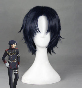 Seraph of the End Guren Ichinose Cosplay Peruecke Marineblau - cosplaycartde