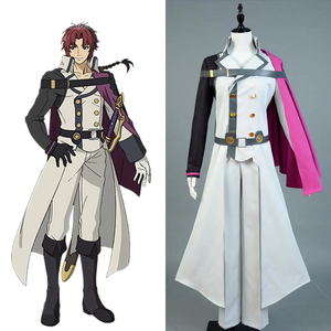 Seraph of the End Owari no Seraph Crowley Eusford Cosplay Kostüm Set