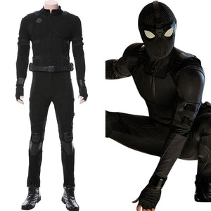 Spider-Man: Far From Home‎ Noir Schwarz Suit Cosplay Kostüm NEU - cosplaycartde
