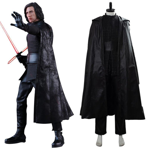 Star Wars 9 The Rise of Skywalker Teaser Der Aufstieg Skywalkers Kylo Ren Cosplay Kostüm Version B