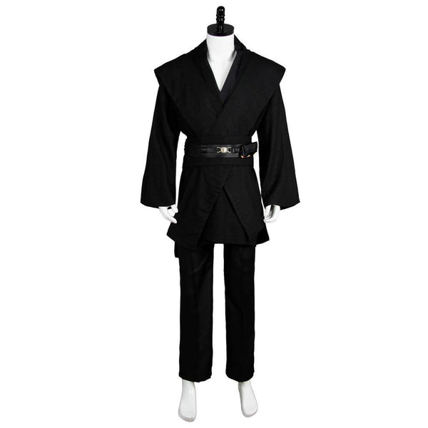 Star Wars Anakin Skywalker Cosplay Kostüm Kleidung Schwarz Version