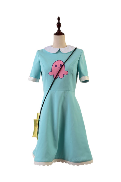 Star vs. the Forces of Evil Princess Star Butterfly Kleid Cosplay Kostüm