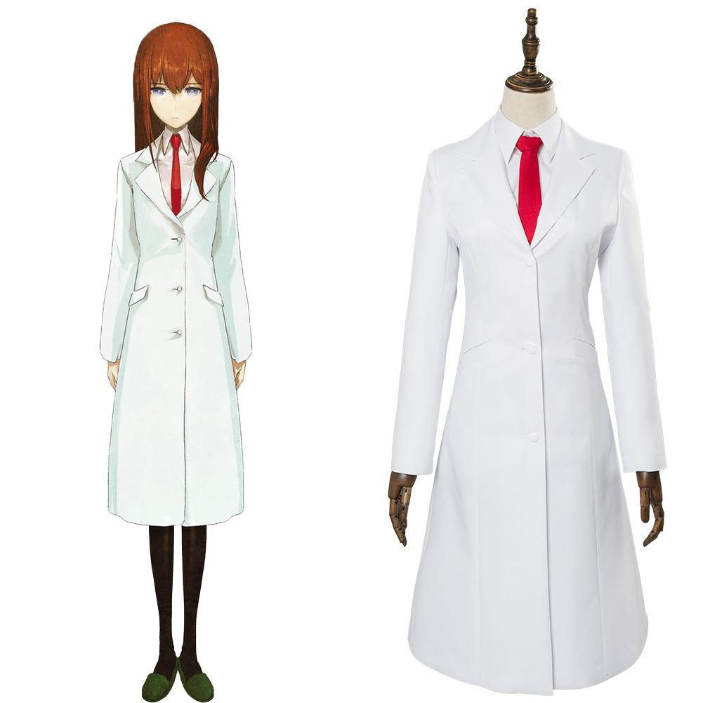Steins;Gate 0 Makise Kurisu Uniform Cosplay Kostüm