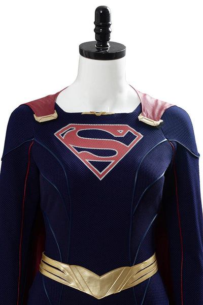 Supergirl Staffel 5 Supergirl Jumpsuit Cosplay Kostüm NEU Set
