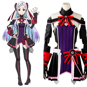 Sword Art Online SAO the Movie Ordinal Scale OS Yuna Kleid Cosplay Kostüm