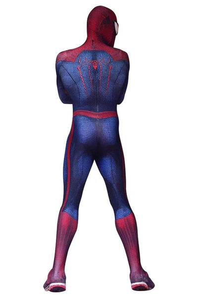 The Amazing Spiderman 3D Print Spandex Spider-man Superhero Coaplay Kostüm TASM Zentai Jumpsuit - cosplaycartde
