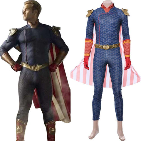 The Boys Superhelden Homelander Cosplay Kostüm NEU