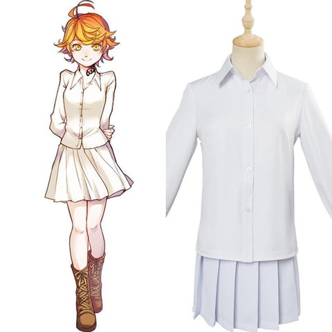 The Promised Neverland Yakusoku no Neverland Emma Norman Ray Cosplay Kostüm - cosplaycartde