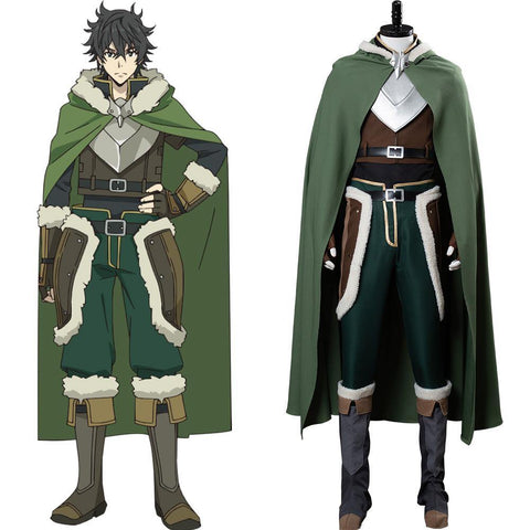The Rising of the Shield Hero Naofumi Iwatani Cosplay Kostüm