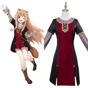 The Rising of the Shield Hero Raphtalia Mädchen Cosplay Kostüm