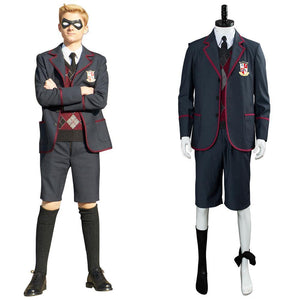 The Umbrella Academy Teenagern Schuluniform Cosplay Kostüm für Kinder - cosplaycartde