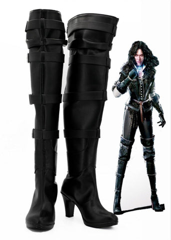 The Witcher 3 Wild Hunt Yennefer Cosplay Schuhe Stiefel