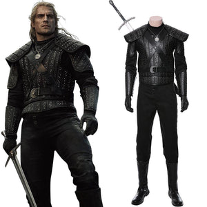 The Witcher Der Hexer Henry Cavill Geralt Geralt von Riva Cosplay Kostüm Version B