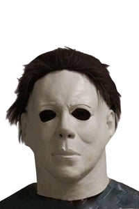 Top 100% Latex Horror Movie Halloween Michael Myers Maske für Karneval Mottoparty