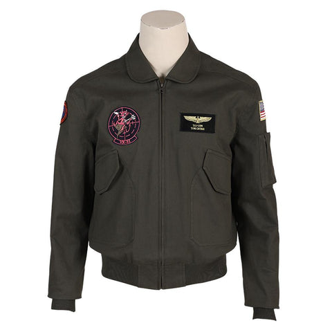 Top Gun 2 Tom Cruise Jacke Lt. Pete Maverick Mitchell Pilot Jacke Cosplay Kostüm