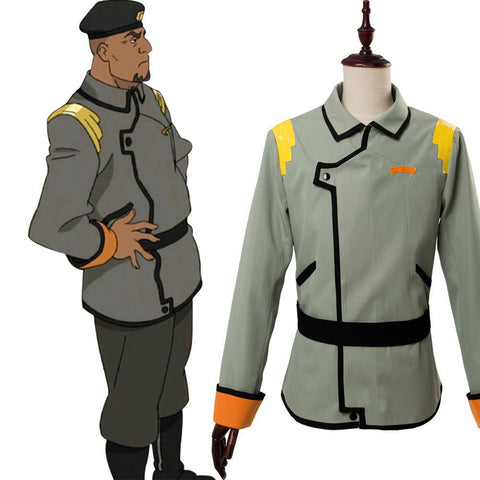 Voltron: Legendärer Verteidiger Voltron: Legendary Defender of the Universe Commander M. Iverson Uniform Jacke Cosplay Kostüm