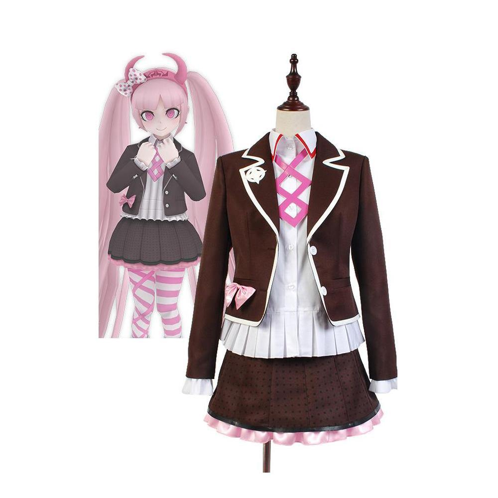 Zettai Zetsubō Shōjo: Danganronpa Another Episode Kotoko Utsugi Uniform Cosplay KostÜm - cosplaycartde