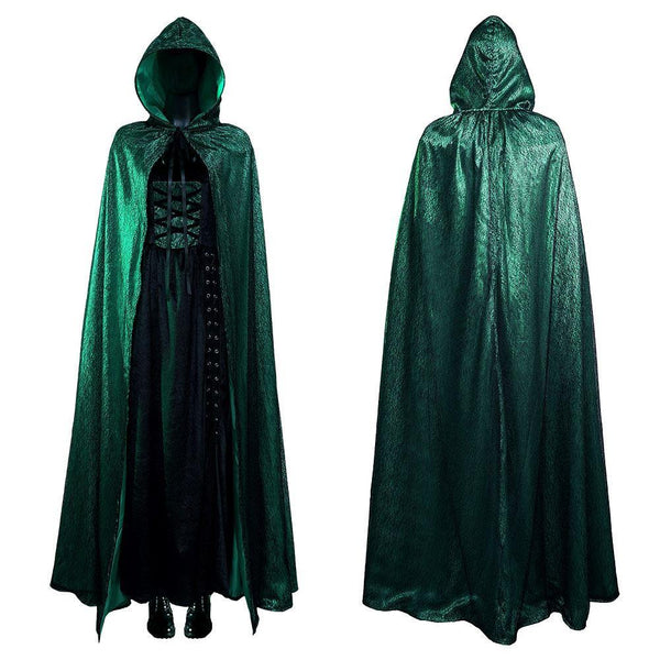 Emerald Sorceress Damen Kleid Cosplay Kostüm Outfits Halloween Karneval Kostüm