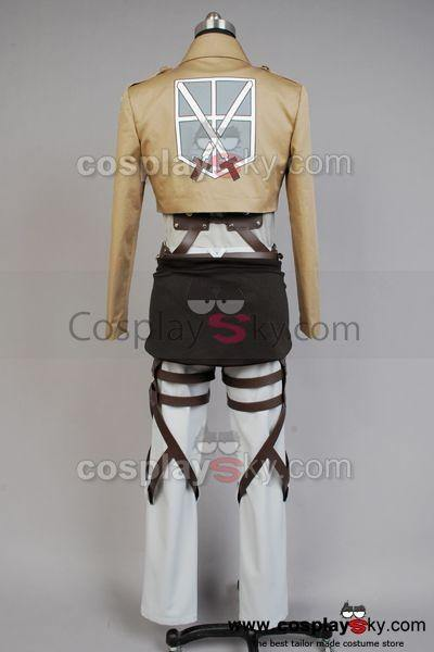 Shingeki no Kyojin Attack on Titan Eren Jaeger Cosplay Kostüm