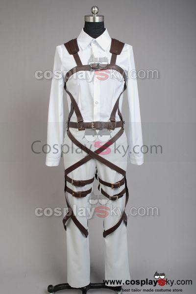 Shingeki no Kyojin Attack on Titan Mikasa Ackerman Cosplay Kostüm