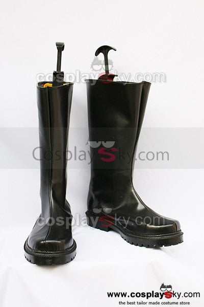 Black Butler Drocell Caines Cosplay Stiefel Schwarz