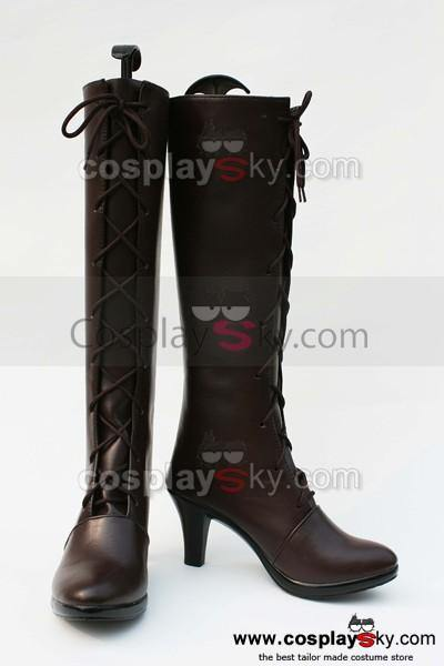 Black Butler Grell Cosplay Stiefel Schuhe