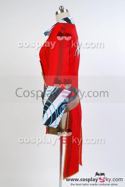 Borderlands 2 Mad Moxxi Rot Uniform Cosplay Kostüm - cosplaycartde
