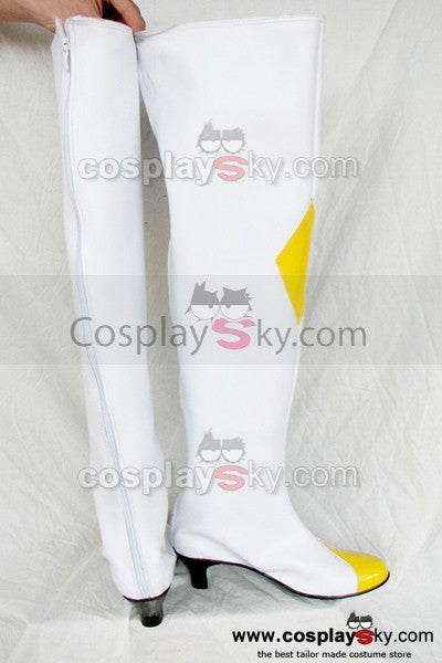 Code Geass: Lelouch of the Rebellion Weiß Cosplay Stiefel
